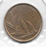 20 Francs  1982   Clas D 116 - 1951-1993: Baudouin I