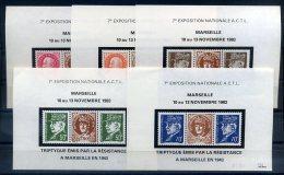 FRANCE LIBERATION MARSEILLE REPRODUCTION DES TRIPTIQUES DE 1943 - Liberation