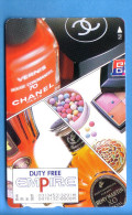 Japan Japon Telefonkarte Phonecard Télécarte  PARFUMS  PARFUM  France  PERFUME Chanel 70 Paris - Parfum