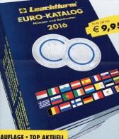 Deutschland EURO Katalog 2016 Für Münzen Numisblätter Numisbriefe Neu 10€ Mit €-Banknoten Coin Numis-catalogue Of EUROPA - Libros, Revistas, Cómics