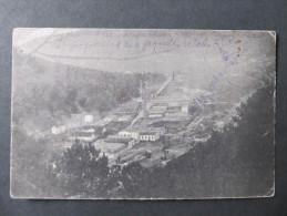 AK PERNITZ ORTMANN Papierfabrik 1915 /// D*18372 - Pernitz