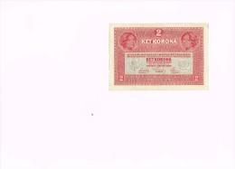 Austria 2 Krone Banknote 1916  Deutschösterreich - Oostenrijk
