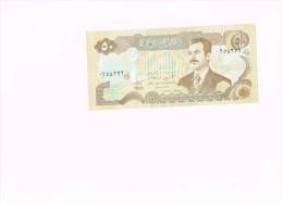 50 Dinar Iraq - Saddam Husajn - Iraq