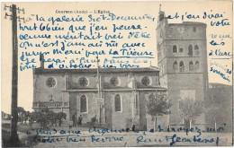 COURSAN  (cpa 11)   L'Eglise - France