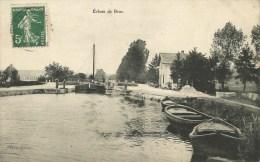 Bras Sur Meuse  (55.Meuse)  Péniche Dans L'écluse - Autres Communes