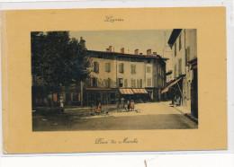 Lagnieu, Place Du Marché, Voir état - Autres Communes