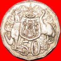 ★KANGAROO: AUSTRALIA ★ 50 CENTS 1974! LOW START★ NO RESERVE! - Decimale Munt (1966-...)