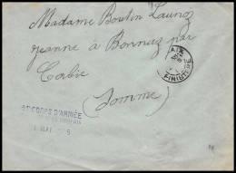3453/ Lettre France Guerre 1914/1918 Santé Hopital Temporaire N°35 Morlaix 1915 Finistère - Guerra Del 1914-18