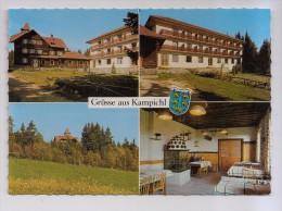 A-451, Postcard, Grusse Aus Kampichl, Gasthof - Pension Czerwenka - Neunkirchen