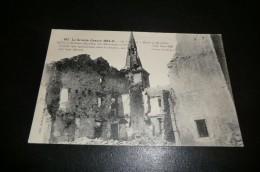 CPA  LA GRANDE GUERRE 1914 1918. En Lorraine Mont S/ Meurthe. église Et Maisons Détruites. - Guerre 1914-18