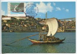 Rabelo  (Portuguese Maximum Card) - Transports