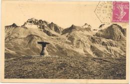 COL DU LAUTARET  (cpa 05)  Table D'orientation Du Lautaret - Massif Du Galibier - - France