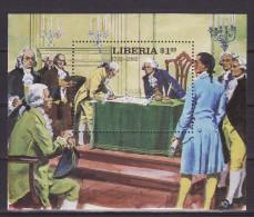 LIBERIA 1982. Block 100, MNH(**) - Liberia