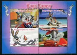 DISNEY,MOVIE,BUGS BUNNY On STAMPS SHEET,MNH,Mint,#BA213 - Disney