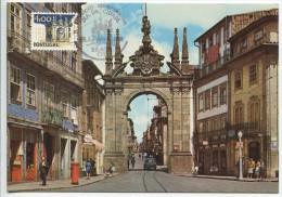 Braga, New Gate´s Arch, Portugal,(Maximum Card) - Architecture