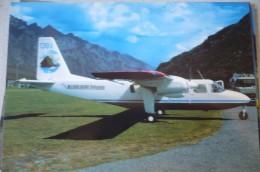 MILFORD SOUND FLIGHTSEEING   BN 2 ISLANDER   ZK DBV  EDITION OKC - 1946-....: Moderne