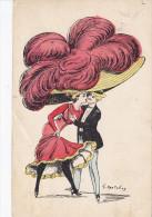 Illustrateur MOUTON Georges,  Chapeau Gène L'approche De L'homme - Other Illustrators
