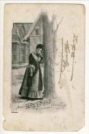 Cartolina LIRICA. Firenze 1903. Bohème Atto III 'O Mia Vita'. Firma Giacomo Puccini. Circolata - Italia