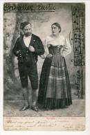 Cartolina LIRICA. Firenze 1903. Cavalleria Rusticana. Santuzza E Turiddu. Circolata - Italia