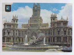 A-472, Postcard, The Cibeles And Telecommunications Palace - Madrid