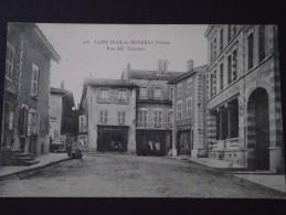 SAINT-JEAN-de-BOURNAY (Isère) - Rue Des Terreaux - Pharmacie - Tailleur - Voyagée - Saint-Jean-de-Bournay