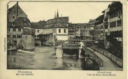 STRASBOURG - Vue Du Pont Saint-Martin -- - Strasbourg