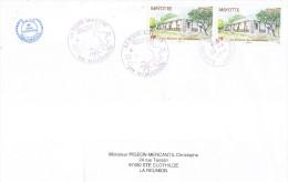 MAYOTTE - Lettre Du 22.04.2010 En Provenance De La Société Mahoraise De Philatélie Et De Cartophilie (SMPC) - Mayotte (1892-2011)