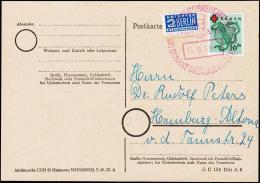 1949. RED CROSS 10+20 Pf. FREIBURG (BREISGAU) HENRI DUNANT GRÜNDER DES ROTES KREUZ 15.8... (Michel: 41A) - JF181520 - Zone Française