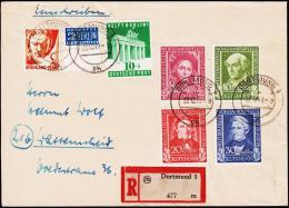 1949. Helfer Der Menschheit 1949. DORTMUND 22.12.49.  (Michel: 117 - 120) - JF181496 - BRD