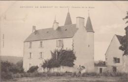 36-SAINT-BENOIT-DU-SAULT-Environs-Château De La Motte 1906  Animé - Autres Communes