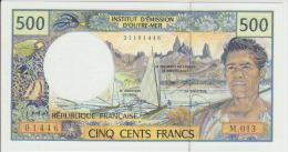 French Pacific Territories 500 Francs 1992 Pick 1b  UNC - Territori Francesi Del Pacifico (CFP)