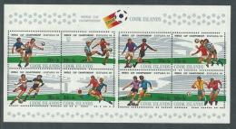 """Cook  BF N° 116  XX """"Espana '82""""coupe Du Monde De Football 1982 En Espagne, Le Bloc Sans Charnière, TB - World Cup"""