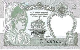 Nepal - Pick 29 - 2 Rupees 1981 - Unc - Nepal