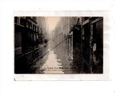 Paris  Crue De La Seine ,Inondation De La Rue St-André-des-Arts - Paris Flood, 1910