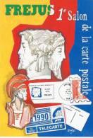 Ier  SALON DE FREJUS ILLUSTRATEUR LENZI - Bourses & Salons De Collections