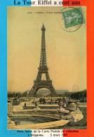 LA TOUR EIFFEL A 100 ANS 9 IEME SALON DE BRIGNOLES MARS 1989 - Collector Fairs & Bourses