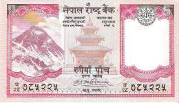 Nepal - Pick 60a - 5 Rupees 2008 - Unc - Népal