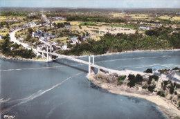 Aw - Cpsm Grand Format LA VILLE ES NONAIS (35) - Les Bords De La Rance, Le Nouveau Pont Suspendu, Port St Jean, St Huber - France