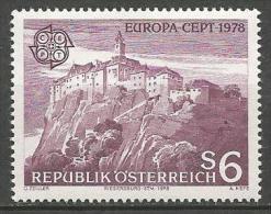 AUTRICHE EUROPA 1978 / N� 1402 NEUF** LUXE SANS CHARNIERE /  MNH