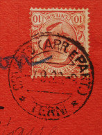 Carte Commerciale PISE Pour PARIS. 1922. - 1900-44 Vittorio Emanuele III