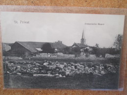 ST PRIVAT MUR HISTORIQUE - Francia