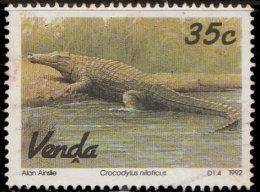 Venda 1992. ~ YT 245 - Crocodile - Afrique Du Sud (1961-...)