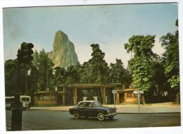 CPM  94    ROCHER DU ZOO DANS LE BOIS DE VINCENNES  1977      ENTREE PRINCIPALE        VOITURE AUTOBUS - Vincennes