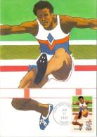 USA 1983 , Olympics 83 - Men´s Gymnastic - Maximum Card - Los Angeles 17 JUN 1983 - Cartoline Maximum