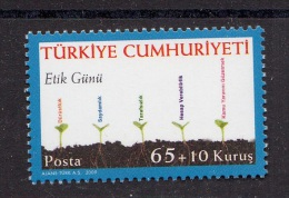 TURKEY TURQUIE 2009  ETHICS DAY - 1921-... República