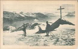 CPA 38 - Chamrousse - Skieurs à La Croix De Champrousse - Chamrousse