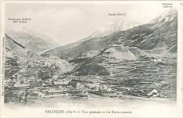CPA 05 - Briançon - Vue Générale Et Les Forts Avancés - Briancon