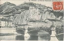 CPA 38 - Grenoble - Le Pont De L'Esplanade Et Les Forts - Grenoble