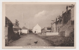 56 MORBIHAN - PENVINS EN SARZEAU La Rue Principale (voir Descriptif) - France