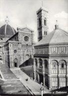 Toscana - Lotto 2 Cartoline FIRENZE, IL DUOMO E Il BATTISTERO, GIARDINO DI BOBOLI E VASCA NETTUNO Anni ´50 - OTTIME L89 - Firenze